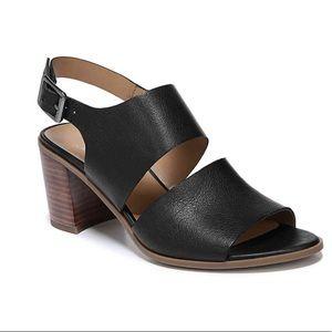 Franco Sarto Hope Black Heeled Sandals